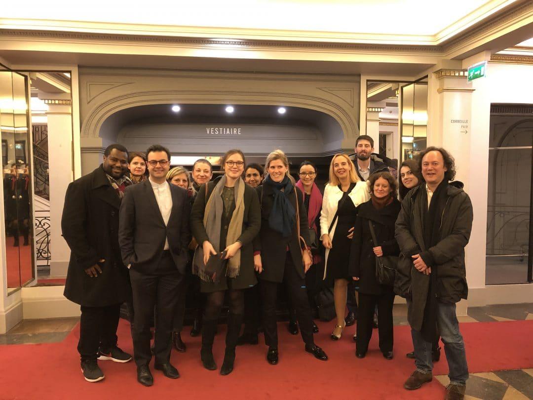 Les avocats au théâtre