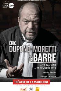 Les Avocats au théâtre : Eric Dupond-Moretti à la barre 1