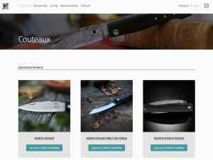 Boutique en ligne des Couteaux Morta