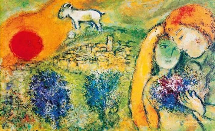 Marc Chagall e il colore