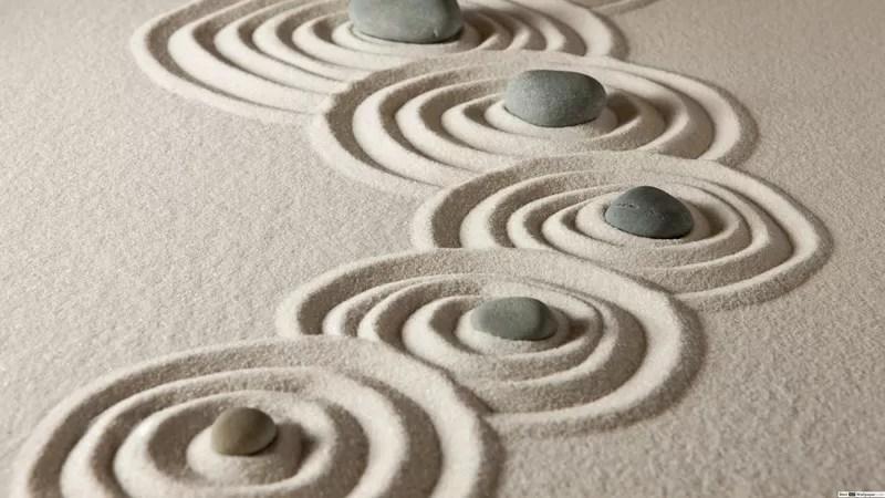 consapevolezza giardino zen
