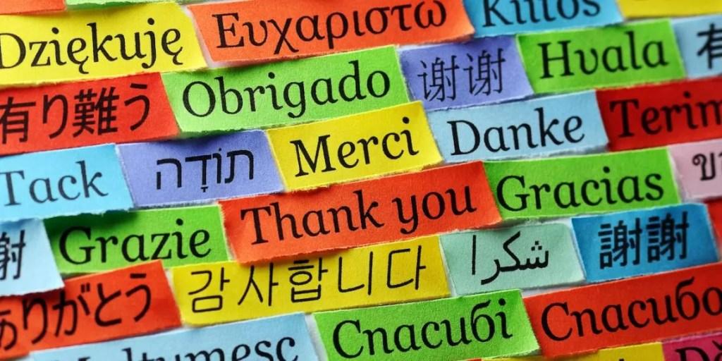 Gratitudine in tutte le lingue