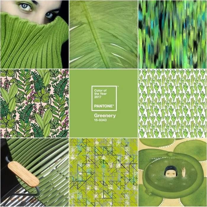 colori pantone verde
