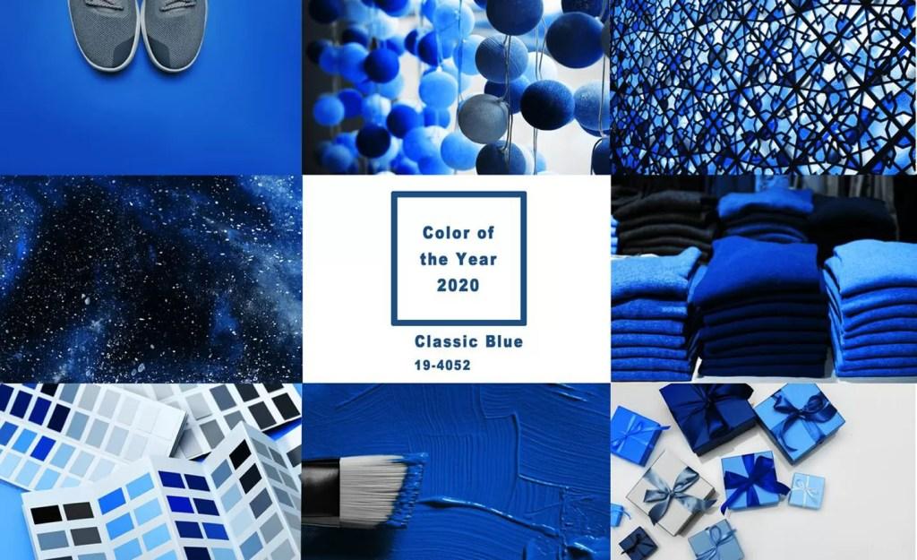 colori pantone classic blue