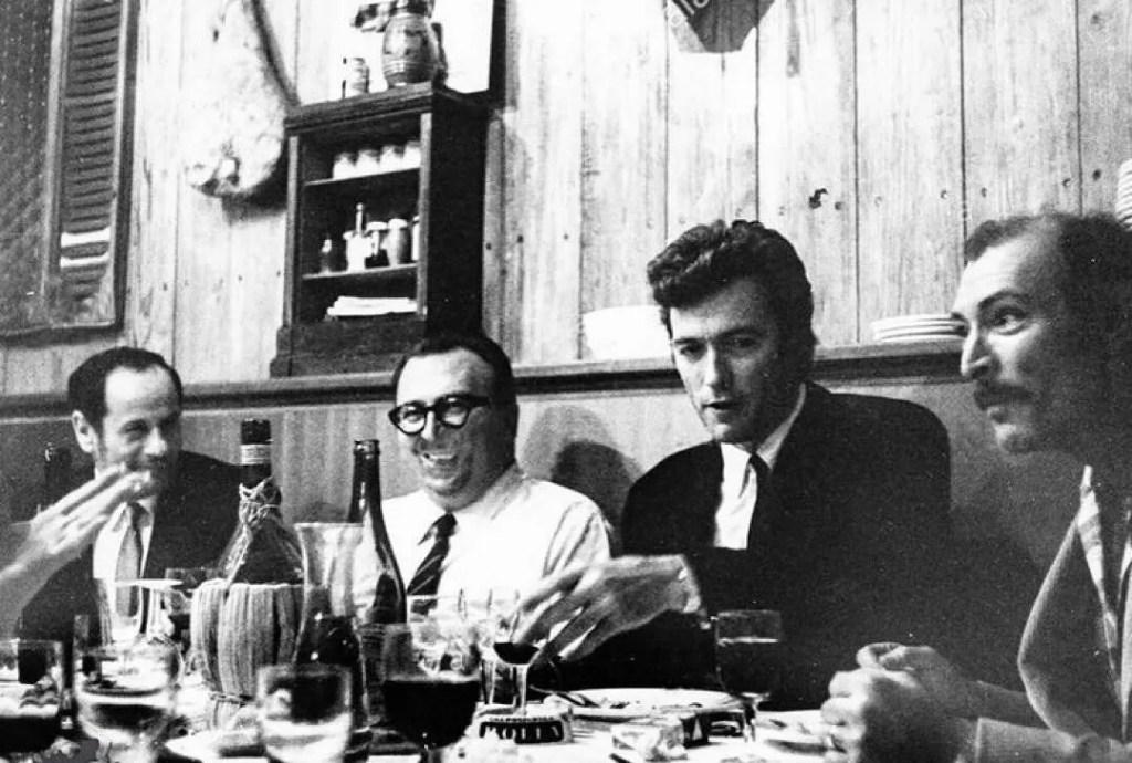 Eli Wallach, Clint Eastwood e Lee Van Cleef e Sergio Leone
