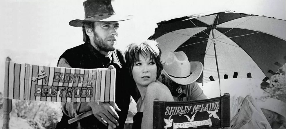con Shirley McLaine