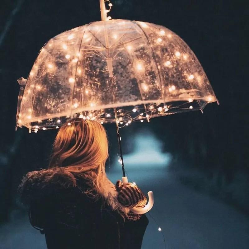 L'ombrello delle cose positive