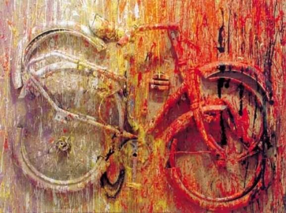 Bicicletta sezionata di Arman