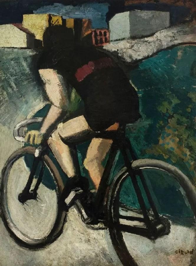 La bicicletta di Mario Sironi