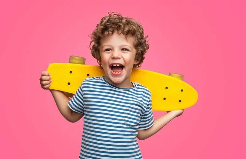 rendere felice un bambino