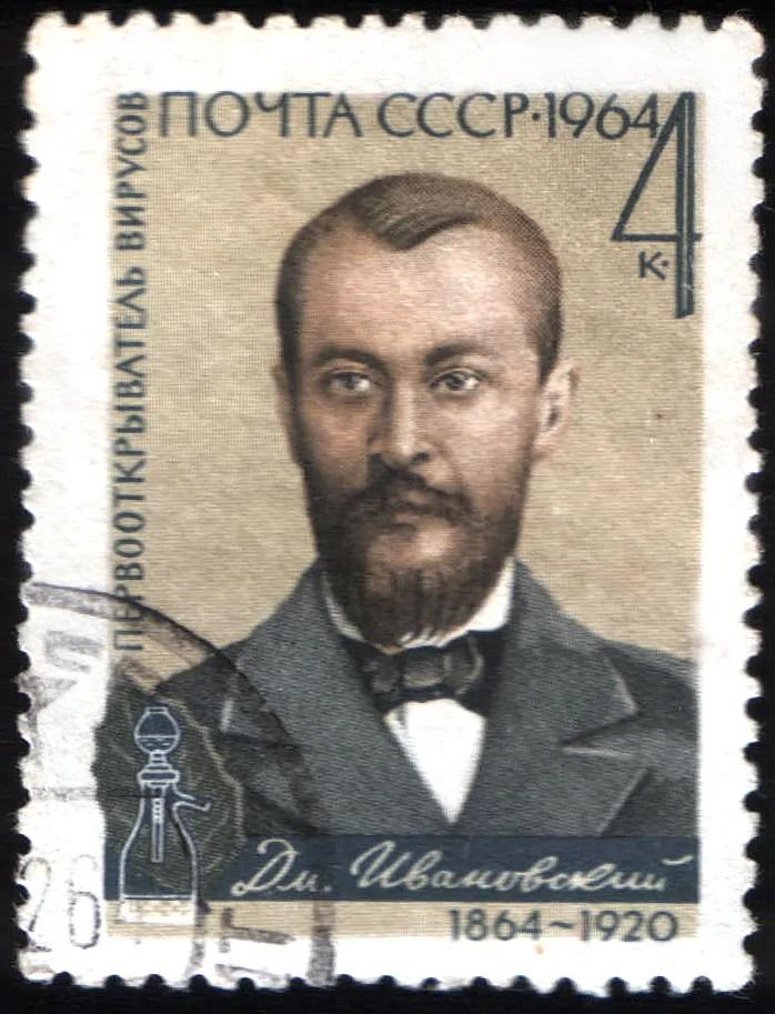 Dmitrij Ivanovskij agli albori della virologia.