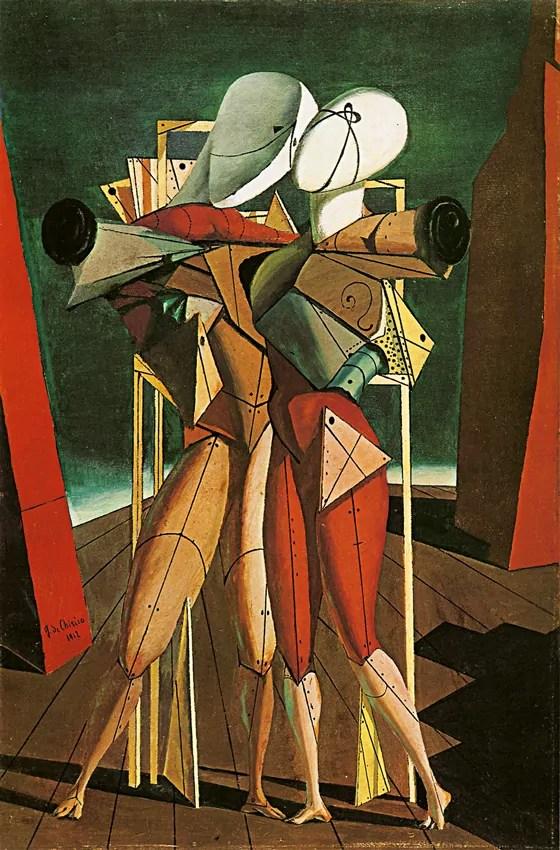 Giorgio de Chirico - Ettore e Andromaca, 1917