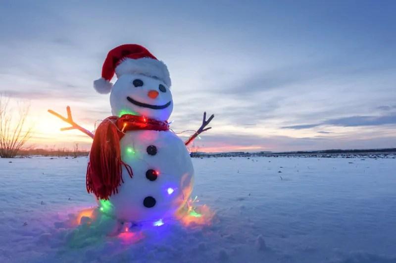 facciamo un pupazzo di neve
