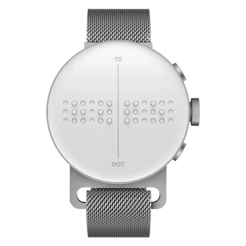 scrittura braille - dot watch