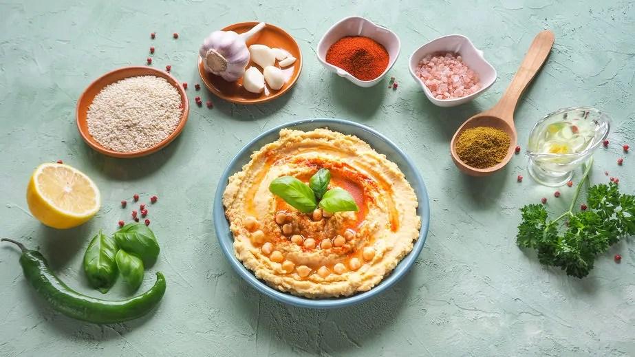 hummus ingredienti