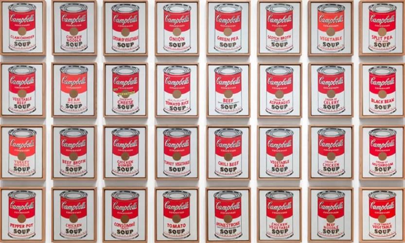 soggetti artistici di Andy Warhol
