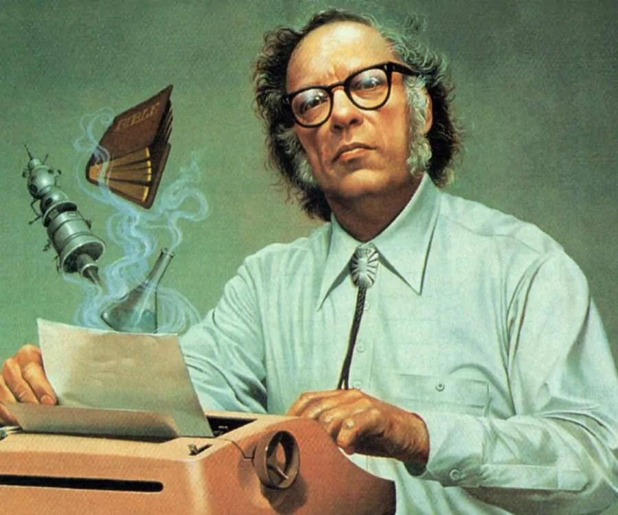lo scrittore Asimov