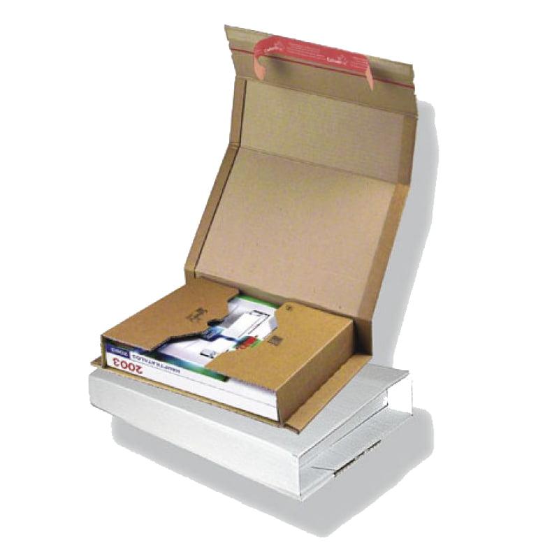 Boekverpakking 302 x 215 x 80 mm