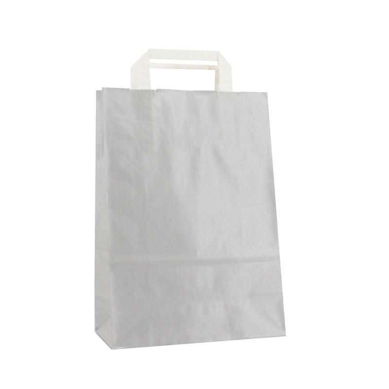 Budget Papieren Tas - Zilver