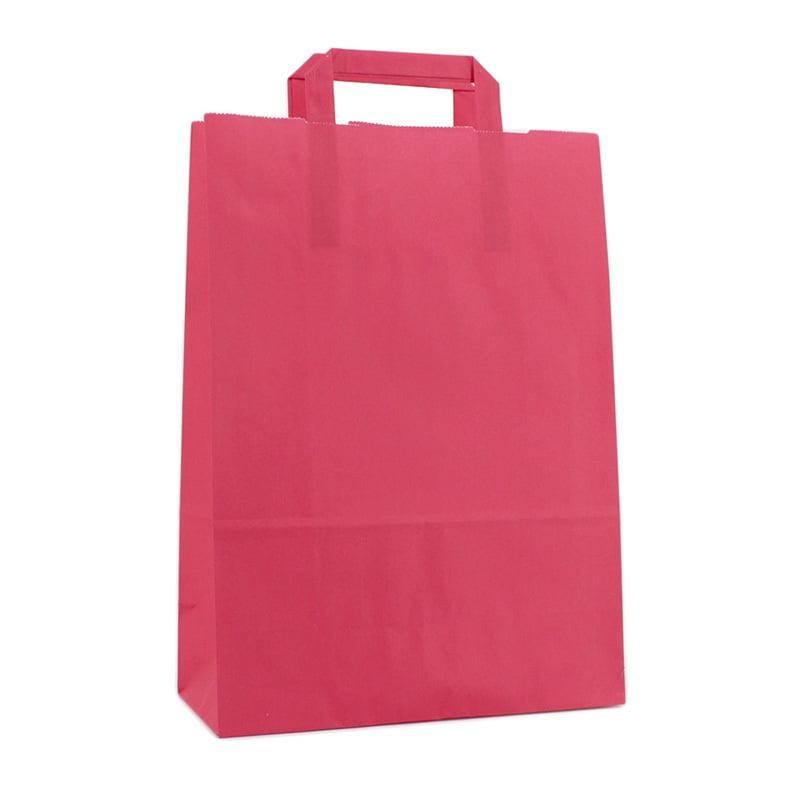 Budget Papieren Tas - Fuchsia