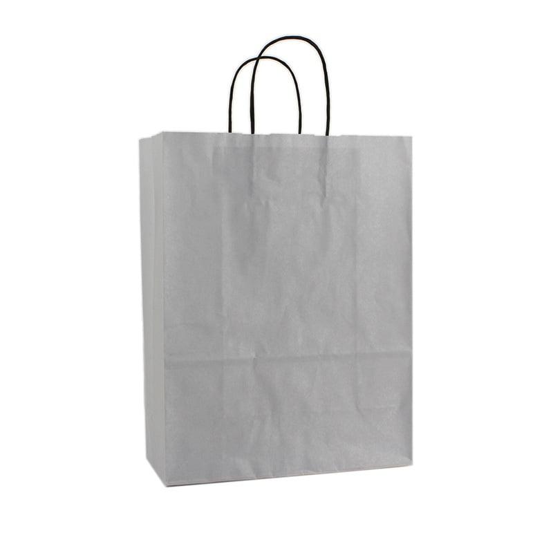 Basic Papieren Tas - Zilver