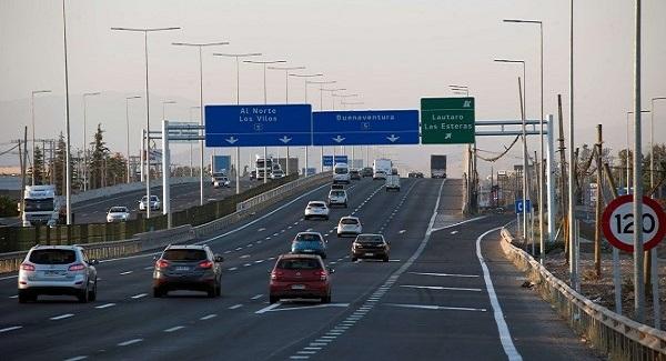 Con 5 meses antes de lo programado se realiza habilitación anticipada de Autovía Santiago Lampa