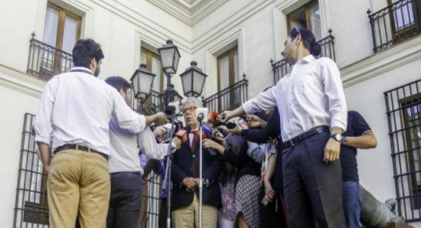 """Ministro Eyzaguirre e Imacec de noviembre: """"Confirma sin lugar a dudas que la economía ya se encuentra en plena senda de recuperación"""""""