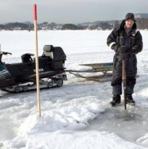 Isen utenfor Sandvika er ikke lenger trygg...