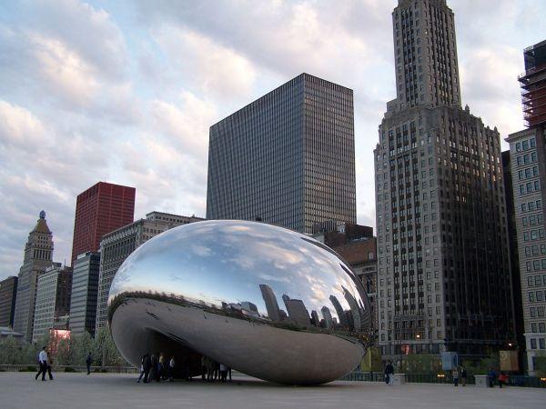 Chicago Illinois - Bean Cloud Gate Sculpture