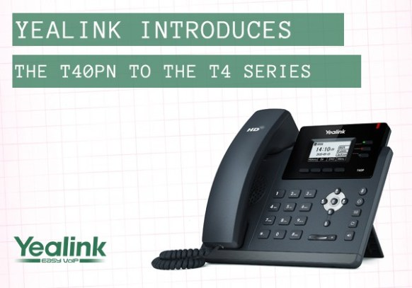 The new Yealink T40PN IP phone – Cirrus IT Services