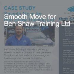 CaseStudy BenShaw WebSite Image