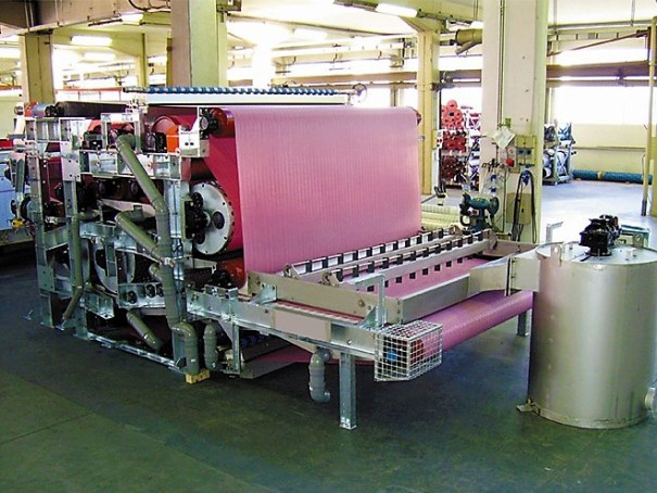 Dewatering: Belt Press CMF OPTIMA for municipal and industrial sludge