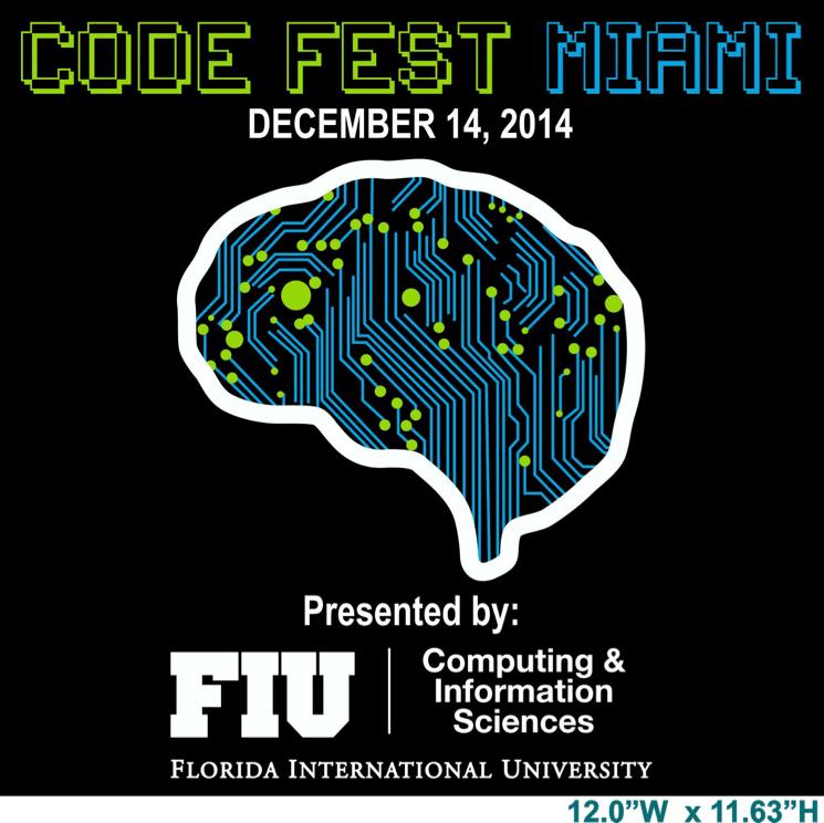 code fest miami at FIU poster