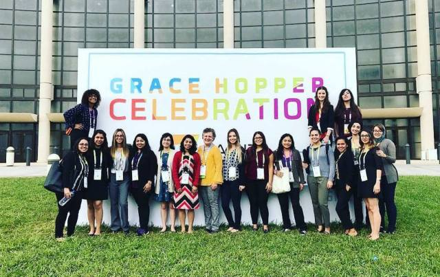 SCIS at the 2017 Grace Hopper Conference