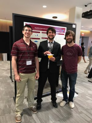 Photo of SCIS Student Manuel Garcia with MIT team