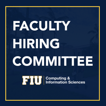 Faculty Hiring Committee Meeting Flyer