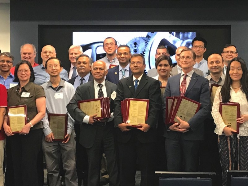 Group photo at FIU inventors recognition