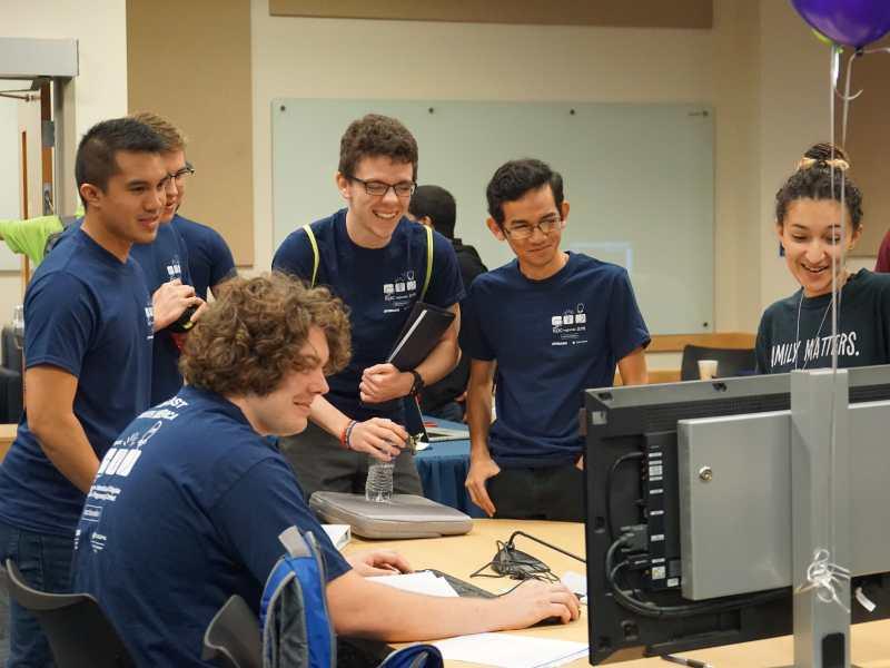 photo of FIU programming team