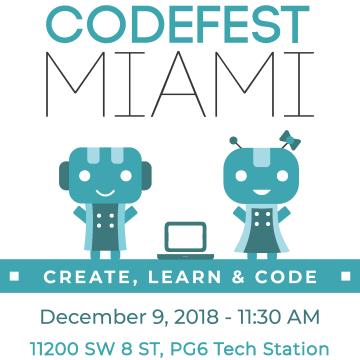 CodeFest Miami 2018 Flyer