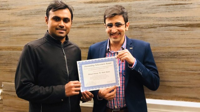 SCIS Researchers from solid lab Received the Best Paper Award at the 2019 IEEE Conference on Computational Science & Computational Intelligence