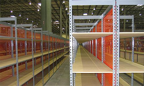 industrial rivet shelving versatile