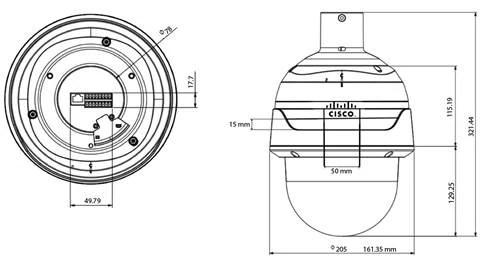 Cisco Video Surveillance PTZ IP Cameras Standard