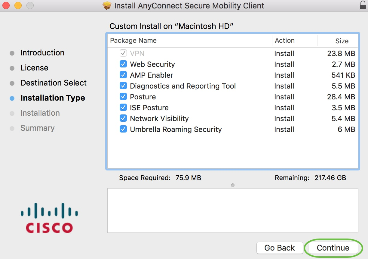 Install Mac OSX AnyConnect Package on Cisco Router and on Mac