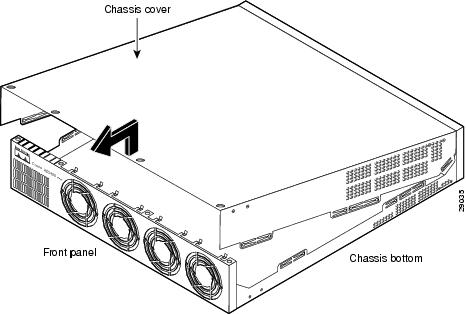 Cisco AS5400XM Universal Gateway Chassis Installation