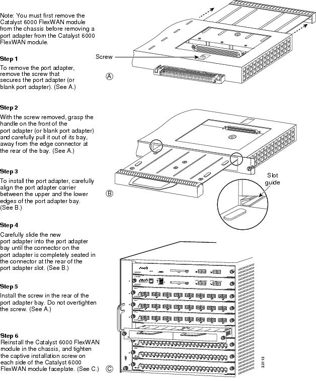 PA-MC-T3 Port Adapter Installation and Configuration