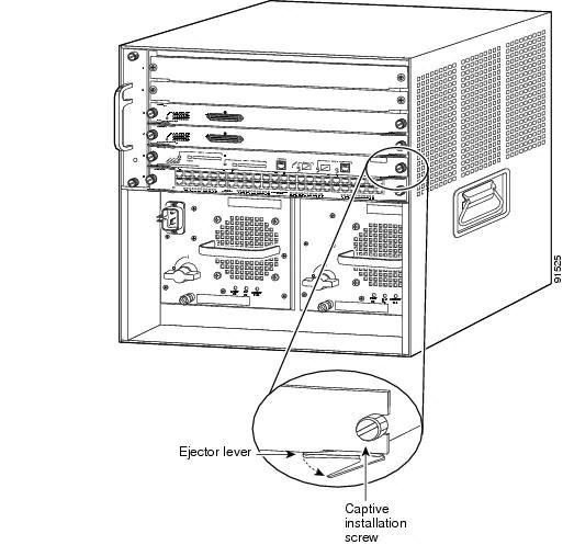 Supervisor Engine 720 SP Bootflash Memory Installation