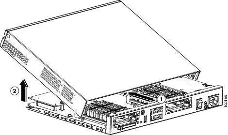 Cisco 1800 Series Hardware Installation (Modular