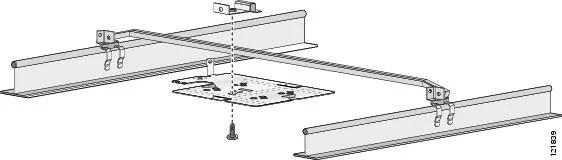 Clips Ceiling Rail Drop