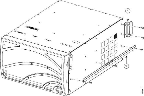 Cisco Server Fabric Switches Rack Shelf Kit Installation