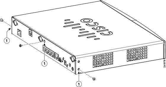 Installing Memory and Power Over Ethernet in Cisco 880